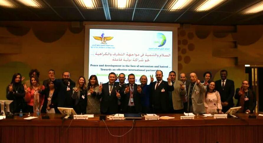 على هامش الدورة 37 بمجلس حقوق الإنسان بجنيف: 40 منظمة من دول مختلفة يعلنوا رسميا