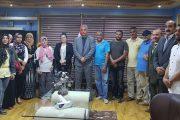 بالصور المستشار/ صبري حسين - يجتمع بأعضاء أمانة حزب مستقبل وطن بشمال أول أكتوبر
