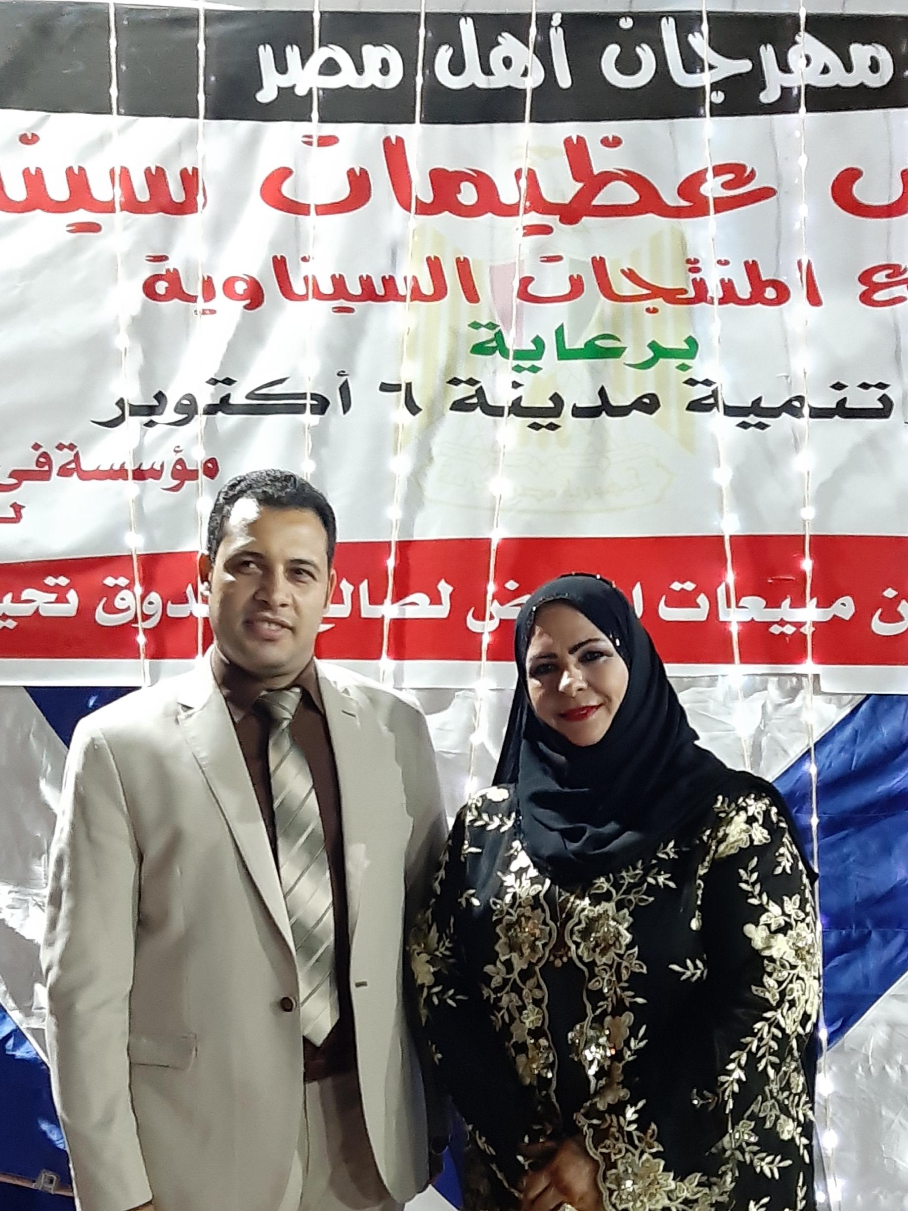 المستشار/ ياسين عبدالمنعم - معرض عظيمات سيناء أصبح من بصمات مدينة ٦أكتوبر ومؤسستي