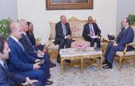 الرئيس السيسي يؤكد دعم استراتيجيات وخطط