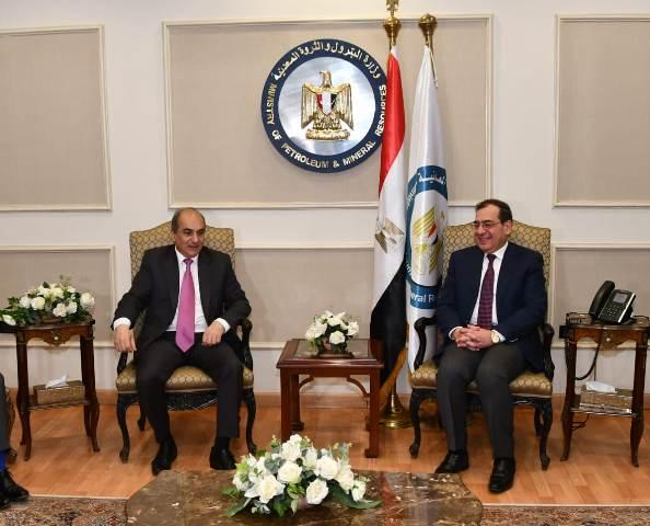 وزير البترول ورئيس البرلمان القبرصى يبحثان سبل التعاون الإقتصادي بين البلدين