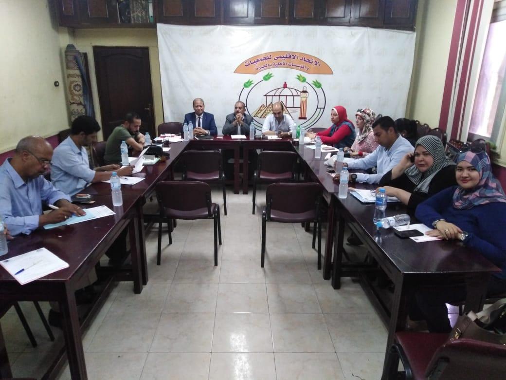 بالصور الإتحاد الإقليمي للجمعيات بالجيزة يعيد تشكيل لجنة الإعلام والعلاقات العامة