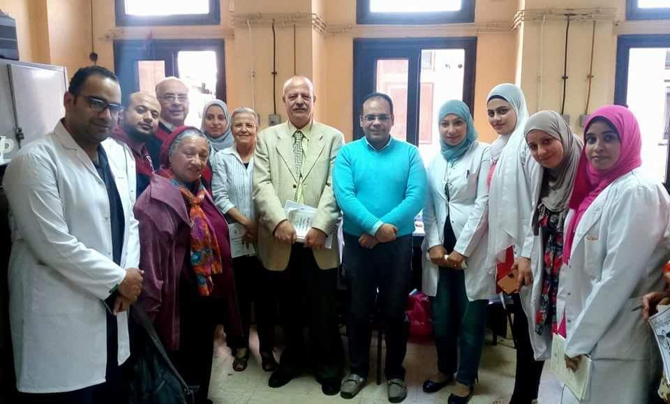 بالصور.. مجلس نقابة الأطباء يزور مستشفي منشية البكري العام