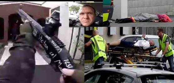 49 قتيلاً في إطلاق نار عشوائي على مسجدين في مدينة كرايست تشيرش بنيوزيلندا